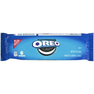 Oreo Original 6 Cookies - 68g