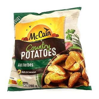 Country Potatoes McCain - 780g