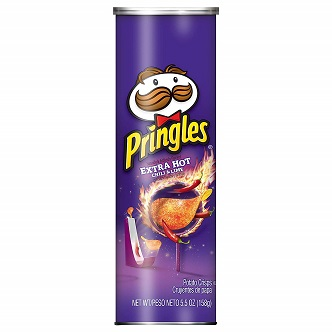 Pringles Extra Hot Chilli & Lime