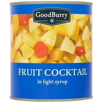 Cocktail de Fruits Goodburry - 820g