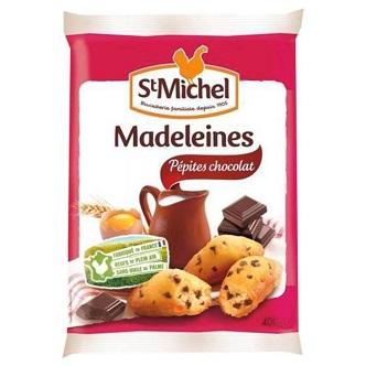 Madeleine Coquille Pepites de Chocolat St-Michel - 75g