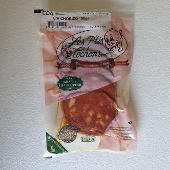 Chorizo En Tranche Les P'tis Cochons - 100g