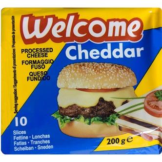 Cheddar en tranche Welcome - 200g