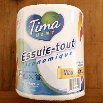 Essuie-Tout XXL Tima - 555 Feuilles