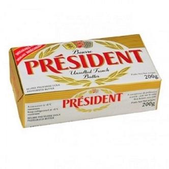 Beurre Doux Président - 200g