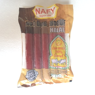Hot Dog Nafy Halal - 200g