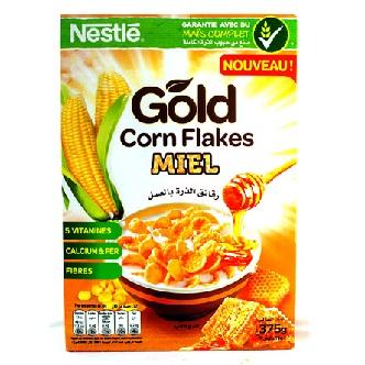 Céréales Gold Corn Flakes Miel - 375g