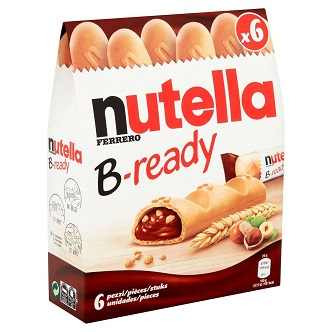 Nutella B-ready - 6 Pièces