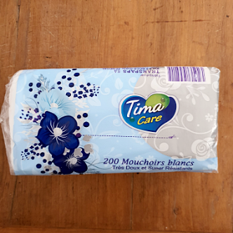Mouchoirs Tima - 200 Pièces
