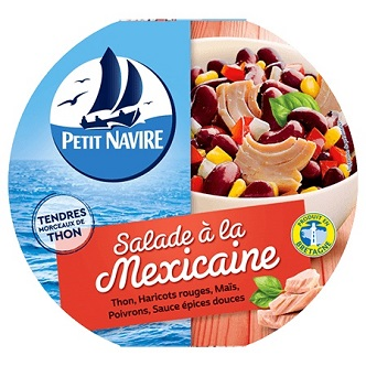 Salade Méxicaine Petit Navire - 220g