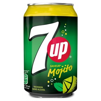 7Up Mojito - 33cl