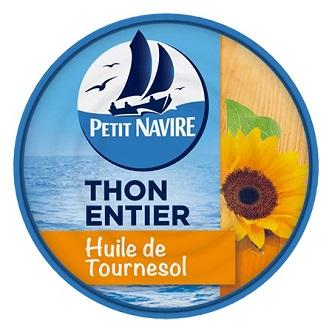 Thon Entier à l'huile de Tournesol - 113g