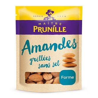 Amandes Grillées Sans Sel Maître Prunille - 250g