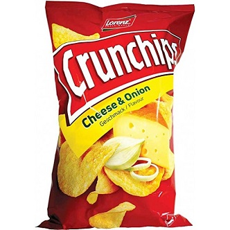 Crunchips Cheese & Onion - 100g