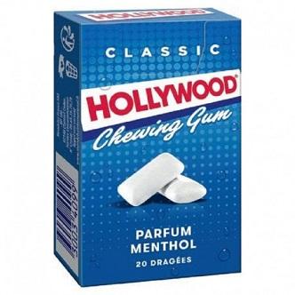Hollywood Menthol 20 dragées - 28g