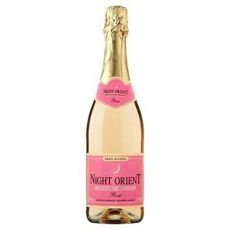 Champagne rosé SANS ALCOOL Night Orient - 75cl