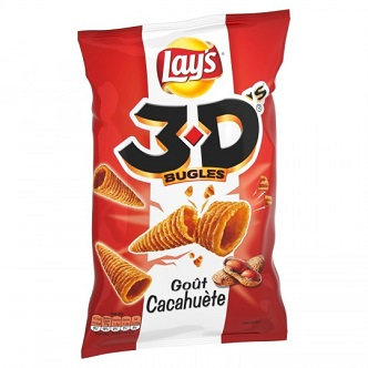 Lays 3D Cacahuète - 85g
