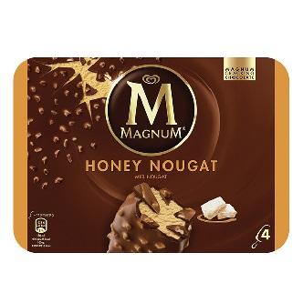 Magnum Honey Nougat (boîte de 4)
